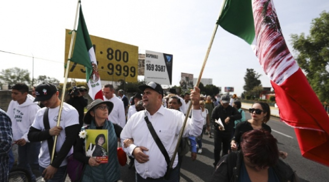 Meksikada af karşıtı protesto