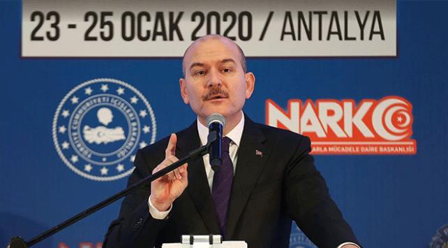 İçişleri Bakanı Soylu: PKK Afrini dünyanın en büyük uyuşturucu merkezi yapacaktı