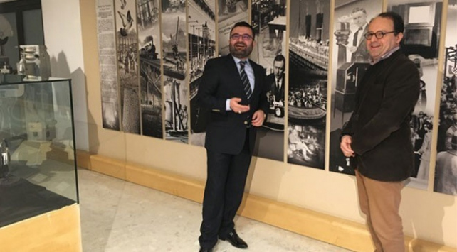 Kosta Rikanın Türkiye Büyükelçisi TRT Yayıncılık Tarihi Müzesini gezdi