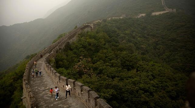 Çin Seddi'nde koronavirüs önlemi