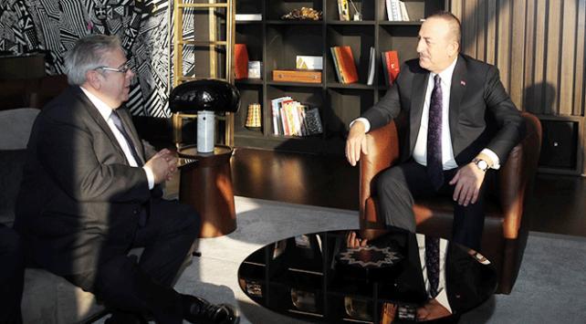 Dışişleri Bakanı Çavuşoğlu APnin yeni Türkiye Raportörü Amoru kabul etti