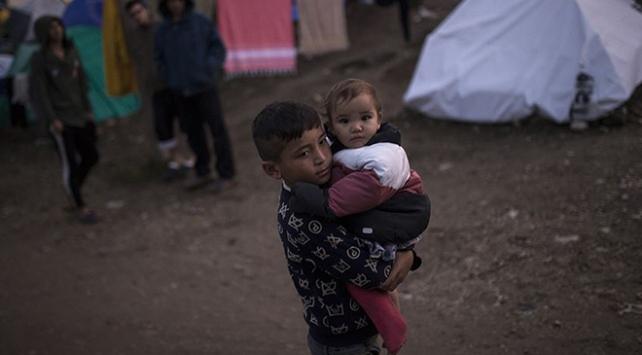Yunanistanda mülteci çocuklar ciddi sağlık sorunları yaşıyor