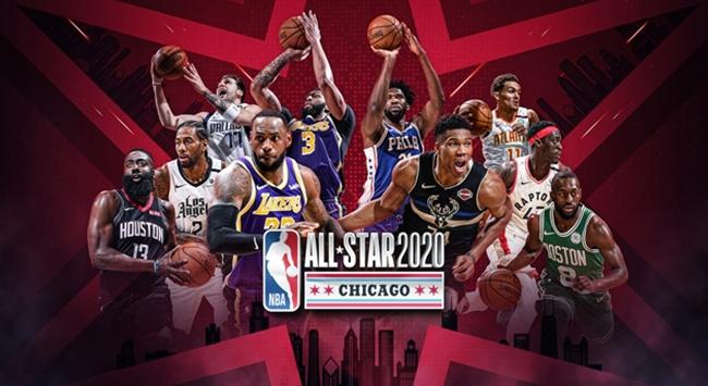 NBA All-Starda ilk 5ler belli oldu