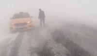 Ardahan-Şavşat kara yolunda ulaşıma kar engeli