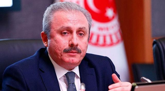 TBMM Başkanı Şentop: Türkiyeye geçmiş olsun