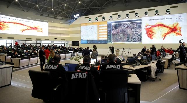 AFAD ekipleri bölgenin ihtiyaçları için 24 saat görevde