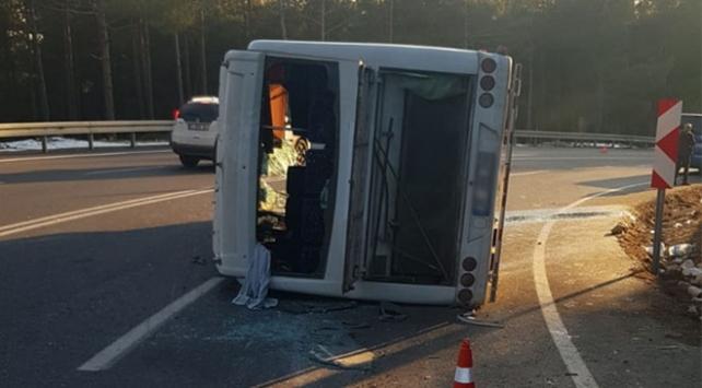 Kahramanmaraşta trafik kazası: 26 yaralı