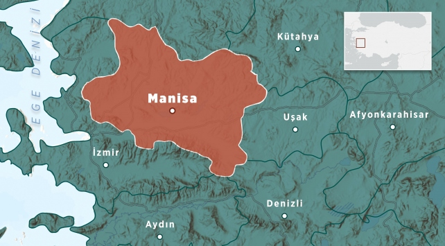 Manisada 4,1 büyüklüğünde deprem