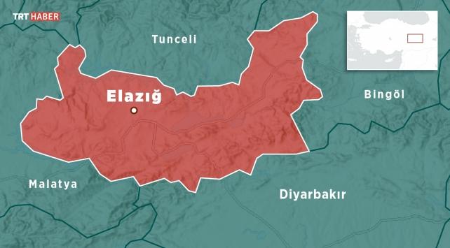 Elazığda 5,1 büyüklüğünde deprem