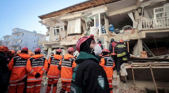 CİMERe depremzedelere yardım için binlerce mesaj yağdı