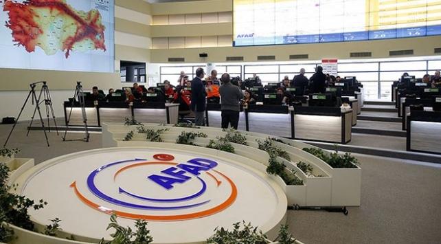 AFAD: Depremden sonra 1556 kişi hastanelere başvurdu