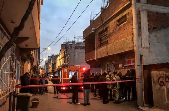 Bursada evde çıkan yangında bir kişi öldü