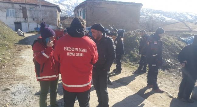 Türk Kızılaydan depremzedelere psikososyal destek