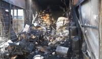 Kars'ta çıkan yangında 6 iş yeri kullanılamaz hale geldi