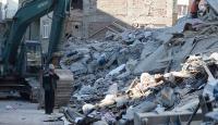 Mustafa Paşa Mahallesi'nde yıkılan binada arama kurtarma çalışması sona erdi