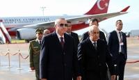 Cumhurbaşkanı Recep Tayyip Erdoğan Cezayir'e geldi
