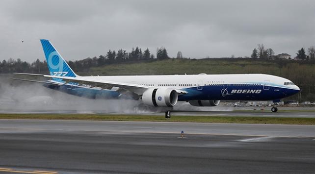 Boeing 777X ilk test uçuşunu tamamladı
