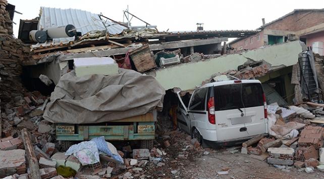Malatyada depremde 56 konut yıkıldı