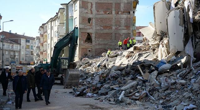 Elazığda 844 artçı deprem meydana geldi