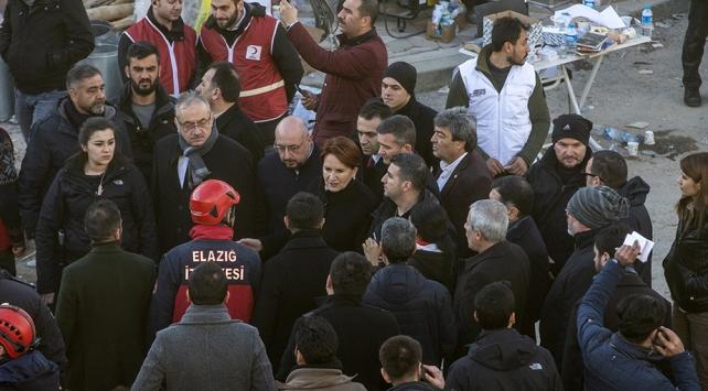İyi Parti Genel Başkanı Akşenerden deprem bölgesine ziyaret