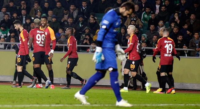 Galatasaray Konyada rahat kazandı