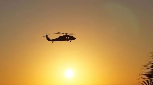 ABD helikopterleri füze saldırısının ardından Bağdattaki Büyükelçilik kompleksine indi
