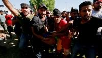 Bağdat'ta iki gösterici öldürüldü