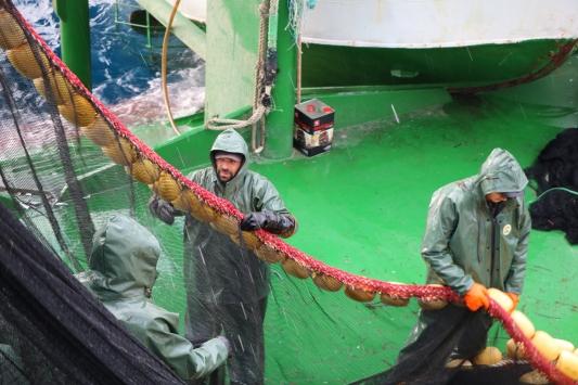 Çanakkalede balıkçılara avlanma eğitimi