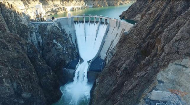 Artvin Barajı ve HESten milli ekonomiye 690 milyon lira katkı