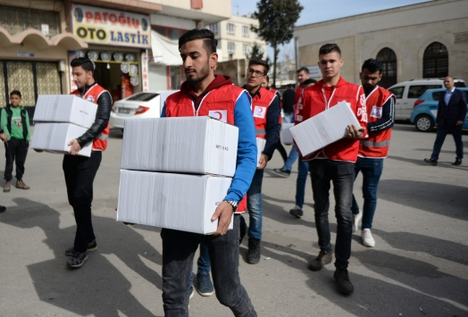 Kiliste depremzedeler için yardım kampanyası