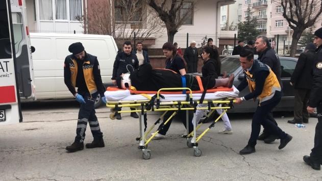 Akşehirde trafik kazası: 3 yaralı