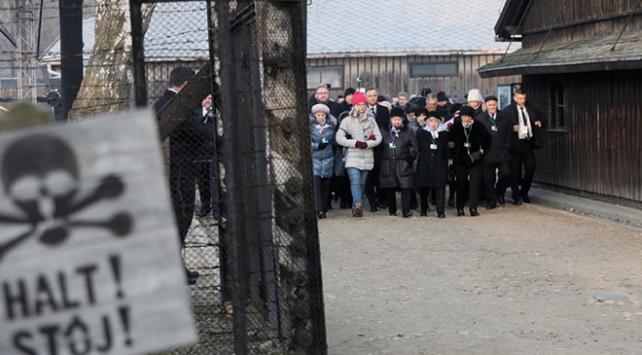 Auschwitzda katliamdan kurtuluşun 75. yılında anma töreni düzenlendi