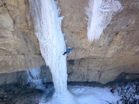 6. Uluslararası Emrah Özbay Buz Tırmanış Festivali, Erzurumda devam ediyor