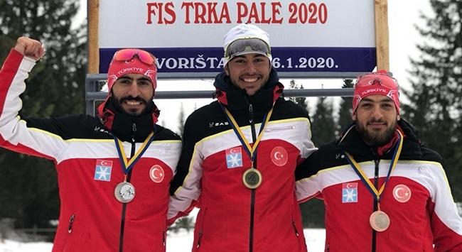 Kayaklı Koşu Milli Takımından 7 madalya