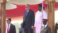 Cumhurbaşkanı Erdoğan Gambiya'da