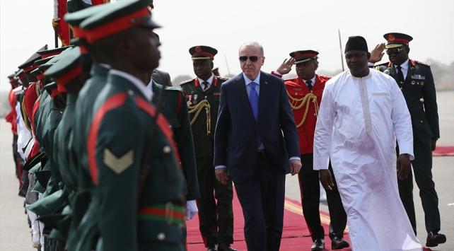 Cumhurbaşkanı Erdoğan Gambiyada