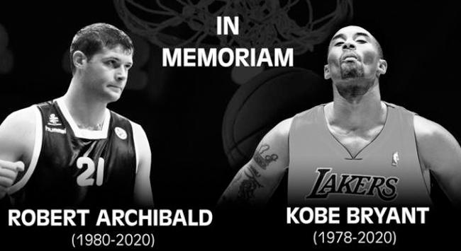 Bryant ve Archibald için saygı duruşu