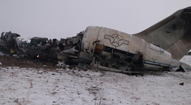 Afganistanda ABD ordusuna ait uçak düştü
