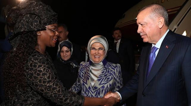 Cumhurbaşkanı Erdoğan Senegalde