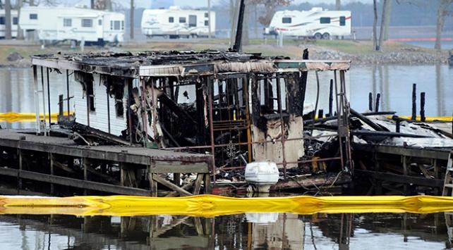ABDde marina yangını: 8 ölü, 6 yaralı