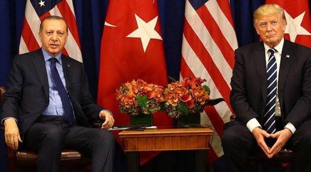 Erdoğan ile Trump, Libya ve Suriyeyi görüştü