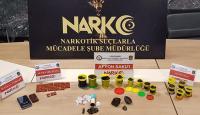 Oyun hamuru kutusuna uyuşturucu gizleyen şüpheli yakalandı