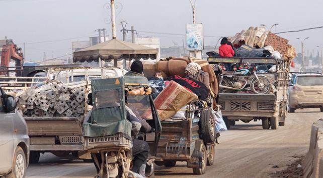 İdlibde 39 bin kişi daha yerinden edildi