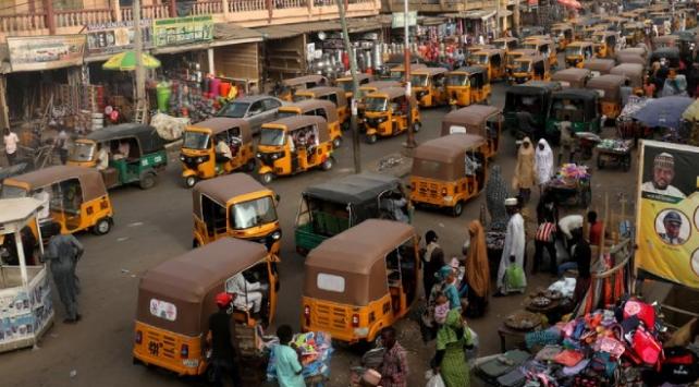 Nijeryanın eski başkentinde motosiklet yasaklandı