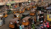Nijerya'nın eski başkentinde motosiklet yasaklandı