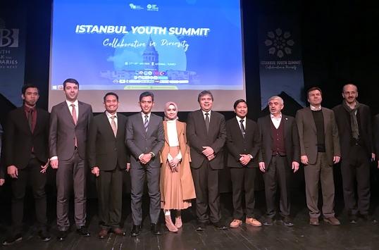 Endonezyalı öğrenciler İstanbul Gençlik Zirvesine katıldı