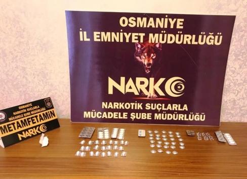 Osmaniyede uyuşturucu operasyonunda yakalanan 8 şüpheliden 1i tutuklandı