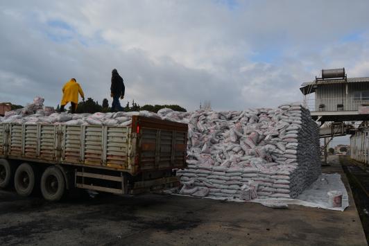 Somadan deprem bölgesine 22 bin ton kömür gönderilecek