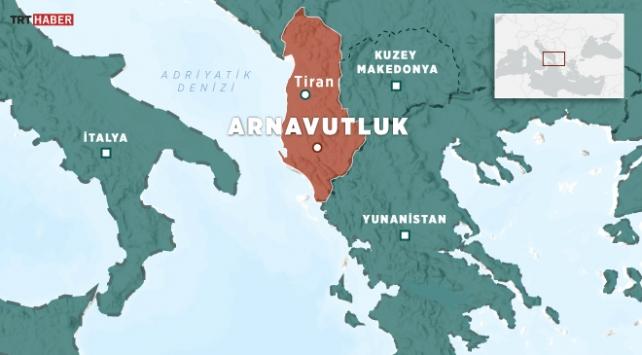 Arnavutlukta 4,9 büyüklüğünde deprem