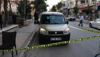 Cenazeyi aracın koltuğunda taşıyan sürücüye polis müdahalesi